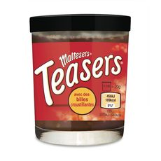 MALTESERS Teasers pâte à tartiner avec billes croustillantes 200g