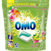 Omo lessive lilas ylang ylang 2en1 écodose x30 -0,723l