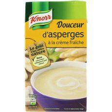 Knorr soupe liquide asperges à la crème fraîche 1l