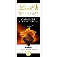 Lindt excellence noir caramel fleur de sel 100g
