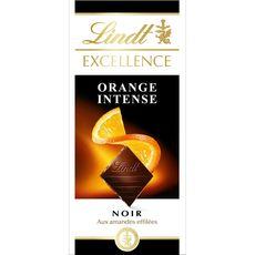 Lindt excellence noir orange 100g