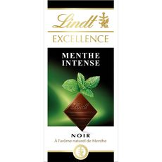 Lindt excellence noir menthe intense tablette 100g