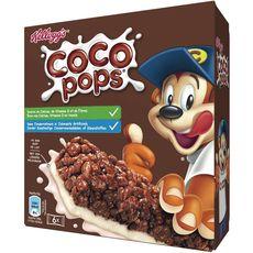 Kellogg's petit déjeuner coco pop's 6x20g -120g