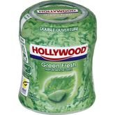 Hollywood Easybox sans sucres green fresh 87g