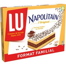 Lu napolitain individuel classic x12 -360g