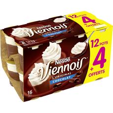 Dessert lacté chocolat 12 + 4 offerts