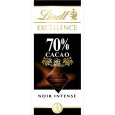 Lindt excellence noir 70% 100g