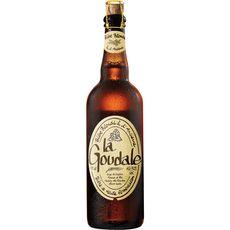 LA GOUDALE Bière blonde à l'ancienne 7,2% 75cl