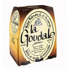 LA GOUDALE Bière blonde à l'ancienne 7,2% bouteilles 6x25cl