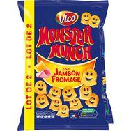 Monster Munch fromage jambon 2x85g