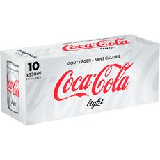 Coca-Cola light frigo pack canette 10x33cl
