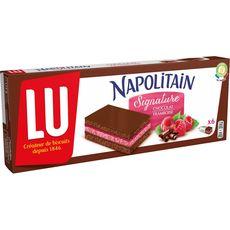 Napolitain chocolat framboise 174g