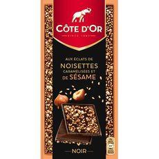 Côte d'Or éclat noir noisette sésame 101,6g
