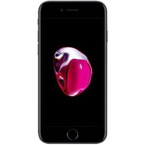 APPLE Apple - iPhone 7 - Reconditionné - Grade A - 32 Go - 4.7 pouces - Noir mat - 4G