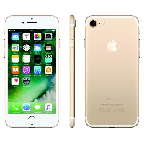 APPLE Apple - IPhone 7 - Reconditionné - Grade A - 32 Go - 4.7 pouces - Or - 4G