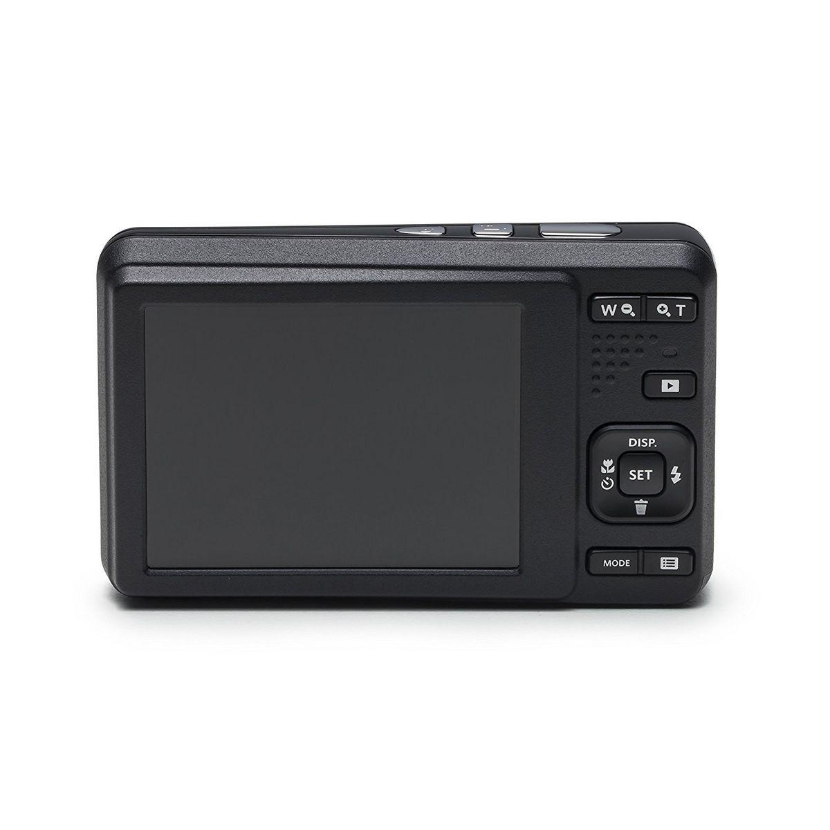 KODAK Appareil Photo Compact - PIXPRO X53 - Noir + Objectif 5.1-25.5 mm  + Etui