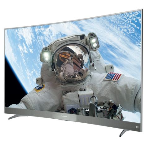 THOMSON 49UD6596 TV LED 4K UHD 124 cm HDR Smart TV Incurvé Argent