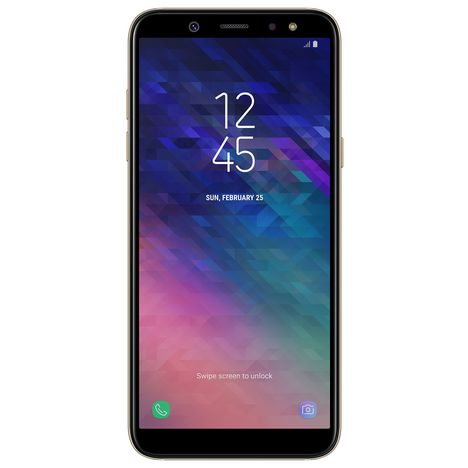 SAMSUNG Smartphone - Galaxy A6 - 32 Go - 5.6 pouces- Or- Double SIM