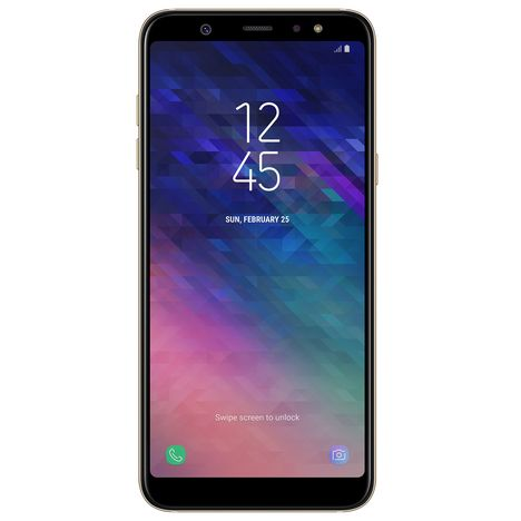 SAMSUNG Smartphone - Galaxy A6+ - 32 Go - 6.0 pouces - Or - Double SIM
