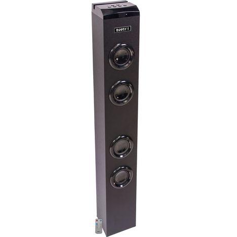 BOOST Tour de son - Bluetooth - USB - Noir - Boost-Tower 100