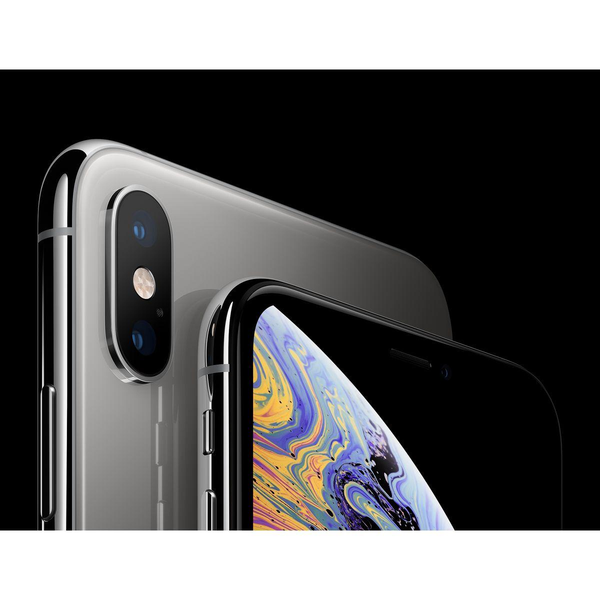 APPLE Smartphone - iPhone XS Max - 64 Go - 6.5 pouces - Argent