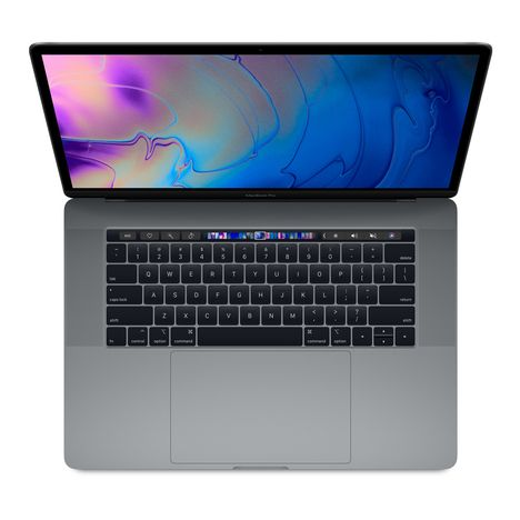 APPLE Ordinateur portable MacBook Pro MR942FN/A - 512 Go - 15.4 pouces - Gris Sidéral