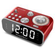 MUSE Radio réveil - Rouge - Vintage - M-18 CRD