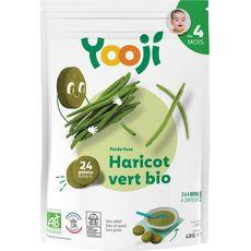 Yooji bio purée lisse de haricots verts 480g dès 4mois