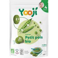 Yooji bio purée lisse de petits pois 480g dès 4mois
