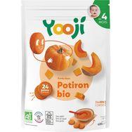 Yooji bio purée lisse de potiron 480g dès 4mois