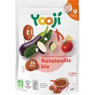 Yooji bio purée avec morceaux de ratatouille 480g dès 9mois