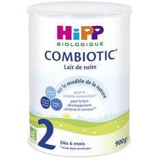 HIPP Hipp Combiotic 2 lait 2ème âge en poudre bio dès 6 mois 900g 900g