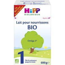 Hipp Lait 1er âge bio en poudre dès la naissance à 6 mois 600g