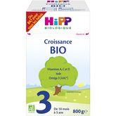 HiPP lait 3 croissance boite 800g 10mois à 3ans