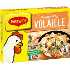 MAGGI Bouilon de volaille fabriqué en France 8 tablettes 80g