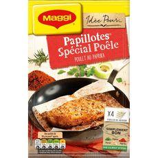 Maggi papillotes spécial poêlé poulet au paprika 23,2g