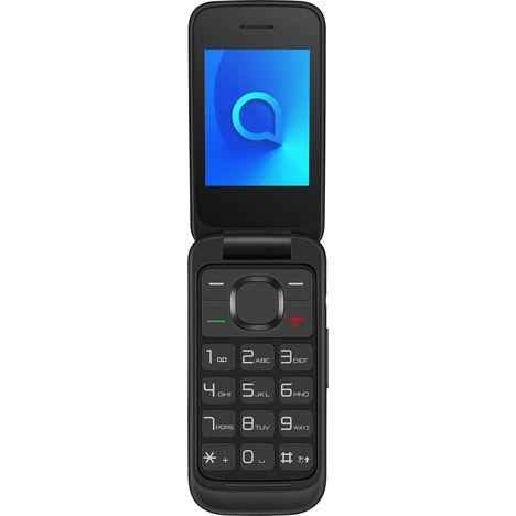 ALCATEL Téléphone portable - Double SIM - A clapet - Noir - Alcatel 2053 Blister
