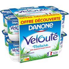 DANONE Danone velouté nature 12x125g offre découverte