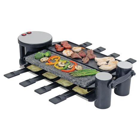 DAEWOO Raclette multifonction DRG-845, 8 personnes