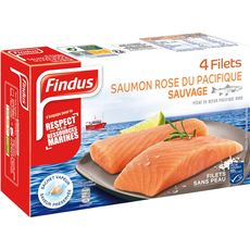 Findus filet de saumon keta 4x100g
