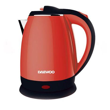 DAEWOO Bouilloire électrique DEK1328, Rouge/noir