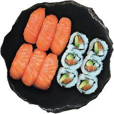SUSHI GOURMET Sushi et california au saumon 12 pièces 335g