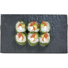 SUSHI GOURMET Cristal saumon et crudités 6 pièces 152g