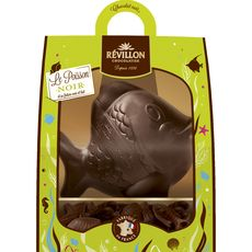 REVILLON Revillon poisson chocolat noir 300g