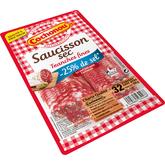 Cochonou saucisson sec tranché taux sel réduit 100g