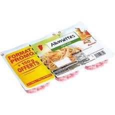 AUCHAN Auchan Allumettes natures 2x150g +150g offert 2x150g+150g offert