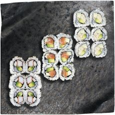 SUSHI GOURMET Sushi Gourmet maki california mixte x18 - 385g 18 pièces 385g