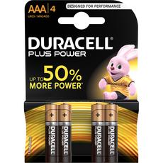 Duracel plus power AAA x4
