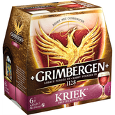 Grimbergen kriek bière 6° -6x25cl