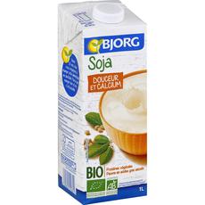 Bjorg soja douceur et calcium bio 1l